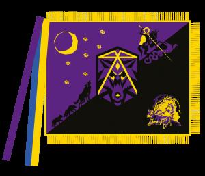Затверджено проект прапора куреня УСП ч. 101 «Карпатські Вовки»